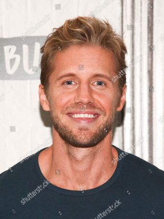 """Stock Image of Matt Barr participates in the BUILD Speaker Series to discuss the TV show """"Valor"""" at AOL Studios, in New York"""
