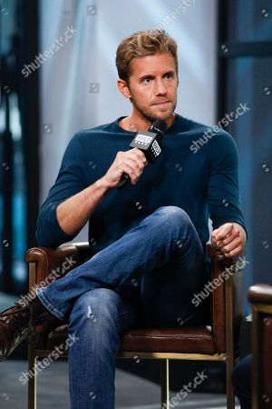 """Stock Photo of Matt Barr participates in the BUILD Speaker Series to discuss the TV show """"Valor"""" at AOL Studios, in New York"""