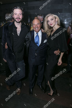 David Oakes (Thomas Novachek), Arnold M Crook (Producer) and Natalie Dormer (Vanda Jordan)