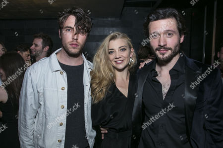 Tom Hughes, Natalie Dormer (Vanda Jordan) and David Oakes (Thomas Novachek)