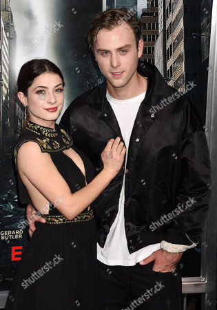 Stock Image of Niki Koss and Sterling Beaumon