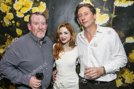Nigel Betts (Edward), Charlotte Hope (Zara) and Nicholas Rowe (Paul Walters)
