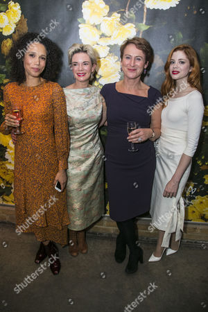 Stock Picture of Vinette Robinson (Anna), Victoria Hamilton (Audrey Walters), Helen Schlesinger (Katherine Sanchez) and Charlotte Hope (Zara)