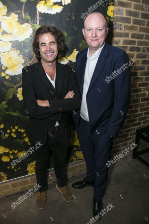 Stock Image of Rupert Goold (Director) and Mike Bartlett (Author)