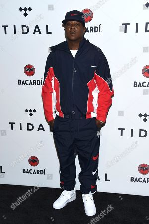 Jadakiss arrives at the TIDAL X: Brooklyn 3rd annual Benefit Concert at Barclays Center, in New York