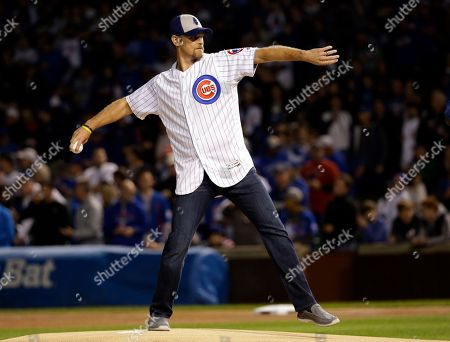 Editorial image of NLCS Nationals Cubs Baseball, Chicago, USA - 17 Oct 2017