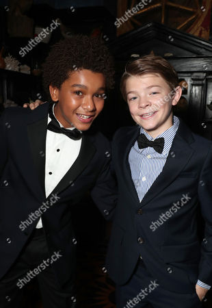 Jaden Michael and Oakes Fegley