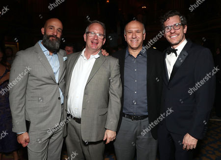 Jason Ropell, Ted Hope, Howard Cohen and Brian Selznick
