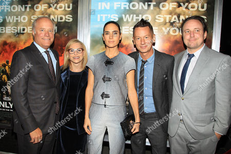Stock Image of Bob Sauerberg, Dawn Ostroff, Jennifer Connelly, Jim Nelson and Jeremy Steckler