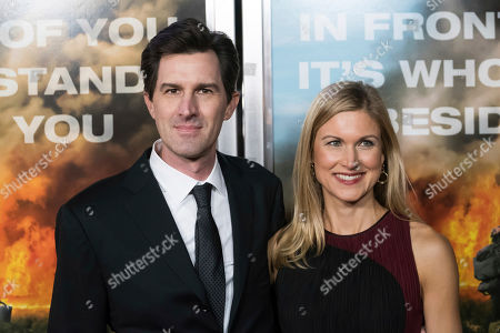 "Stock Image of Joseph Kosinski, Kristin Kosinski. Joseph Kosinski and Kristin Kosinski attend a screening of ""Only the Brave"" at the IPIC Theater, in New York"