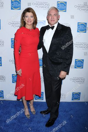 Norah O'Donnell and Sam Champion