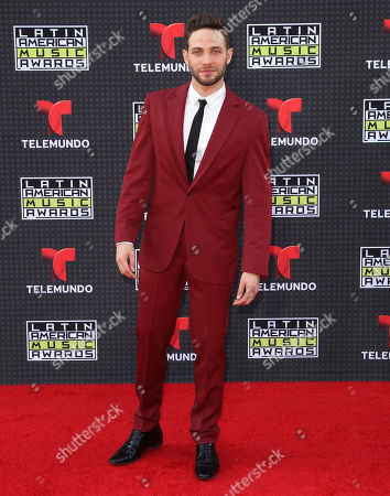 Stock Photo of Gabriel Coronel arrives at the Latin American Music Awards at the Dolby Theatre, in Los Angeles