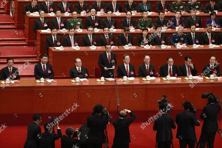 Editorial photo of 19th National Congress of the Communist Party of China (CPC), Beijing - 18 Oct 2017