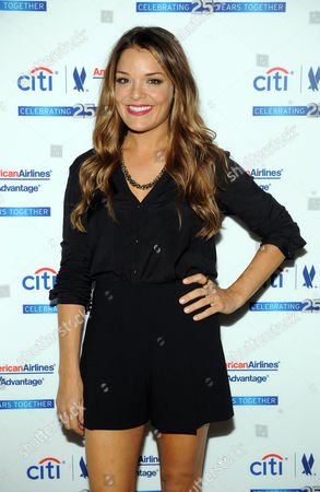 """Sabrina Soto arrives at the Citi AAdvantage """"Love The Journey"""" Alicia Keys concert at Avery Fisher Hall, on in New York"""