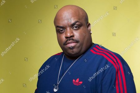 Stock Image of American singer-songwriter, rapper, record producer and actor, Cee Lo Green, poses for a portrait, in New York. Green pleaded no contest, to giving a woman ecstasy during a 2012 dinner in Los Angeles. Green, whose real name is Thomas DeCarlo Callaway, was sentenced to three years of probation and 360 hours of community service