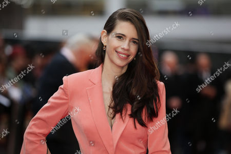 Actress Kalki Koechlin poses for photographers upon arrival at the premiere of the film Mrgarita With a Straw, as part of the BFI London Film Festival, in central London