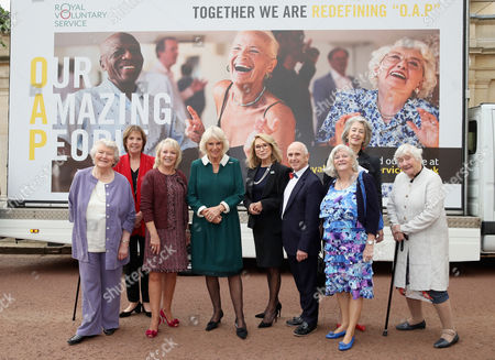 Dame Patricia Routledge, Penelope Wilton, Elaine Paige, Camilla Duchess of Cornwall, actress Felicity Kendal, dancer Wayne Sleep, Maureen Lipman, Ann Widdecombe, Shirley Williams