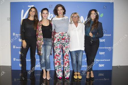 Elena Furiase, Roko, Samantha Vallejo Najera, Maribel (Masterchef) and Lorena Castell