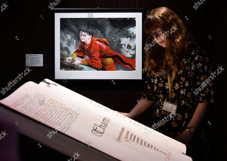 Editorial image of 'Harry Potter: A History of Magic' press view, London, UK - 18 Oct 2017