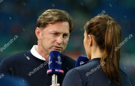 Trainer Ralph Hasenhuettl Interview, SKY Esther Sedlaczek