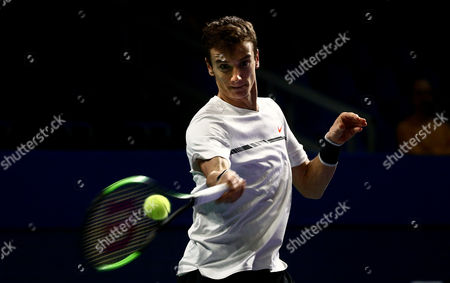 Editorial image of Kremlin Cup tennis tournament in Moscow, Russian Federation - 18 Oct 2017