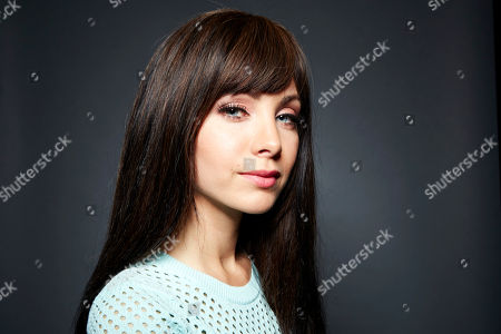 Canadian actress and current star of the Showcase Network supernatural crime drama television series 'Lost Girl,' Ksenia Solo poses for a portrait, on in New York