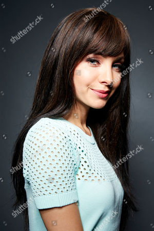 """Canadian actress and current star of the Showcase Network supernatural crime drama television series """"Lost Girl,"""" Ksenia Solo poses for a portrait, on in New York"""
