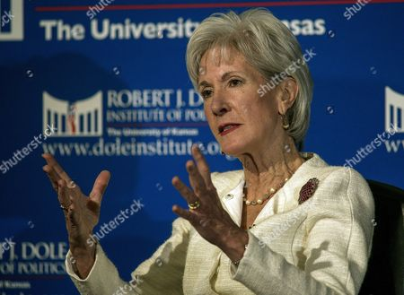 Kathleen Sebelius, Former Secretary of Health and Human Services during the first in the series 2015 Presidential lectures