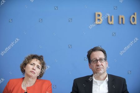 Stock Picture of Nicola Beer, Stefan Birkner