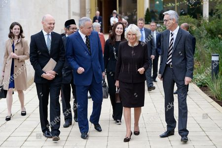 Editorial image of Camilla Duchess Of Cornwall visit to Worcester College, Oxford, UK - 18 Oct 2017