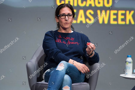 """Cosmetics guru Bobbi Brown talks at the session """" Innovating from Within: When the Entrepreneurial Spirit Never Stops."""""""