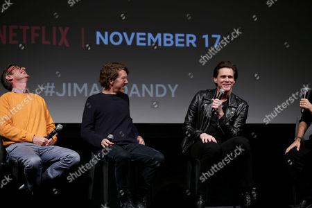 Spike Jonze (Producer), Chris Smith (Director), Jim Carrey