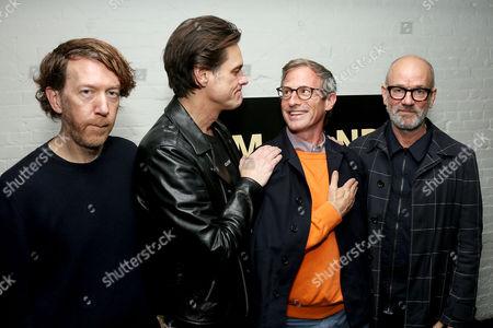 Chris Smith (Director), Jim Carrey, Spike Jonze (Producer), Michael Stipe