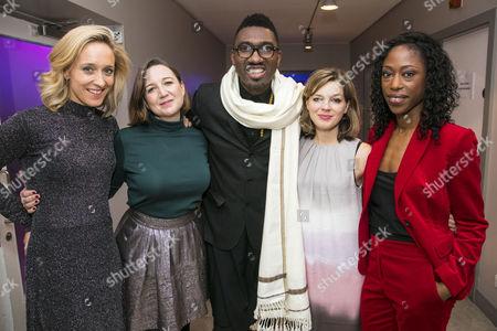 Kate Pakenham (Executive Producer), Josie Rourke (Artistic Director), Kwame Kwei-Armah (Director), Elinor Cook (Adaptation) and Nikki Amuka-Bird (Ellida Wangel)