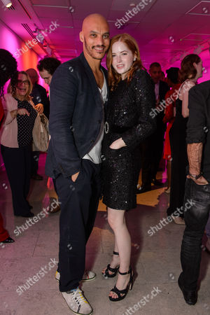 Stock Image of Jake Fairbrother and Ellie Bamber