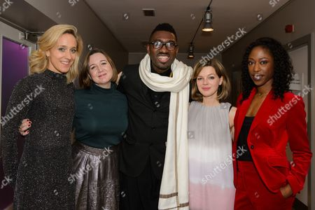 Josie Rourke and Kate Pakenham, Kwame Kwei-Armah, Nikki Amuka-Bird and Elinor Cook