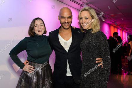 Josie Rourke, Jake Fairbrother and Kate Pakenham