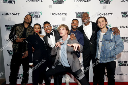Method Man, Katerina Graham, Allen Maldonado, Logan Paul, Andrew Bachelor, Terry Crews, Devon Werkheiser