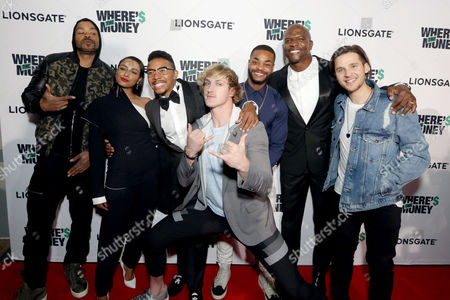 Editorial picture of Lionsgate 'Where's the Money' Los Angeles Premiere at ArcLight Culver City, Culver City, USA - 18 October 2017
