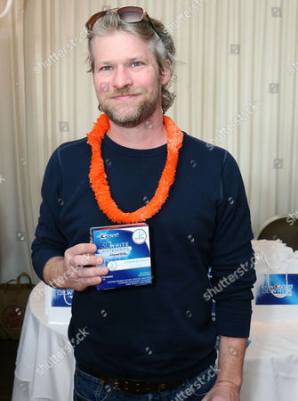 In this photo from Crest Whitestrips, Todd Lowe gets red carpet ready with Crest Whitestrips at the Red Carpet Celebrity Retreat, SLS Hotel, on Thursday, Feb. 21, in Los Angeles
