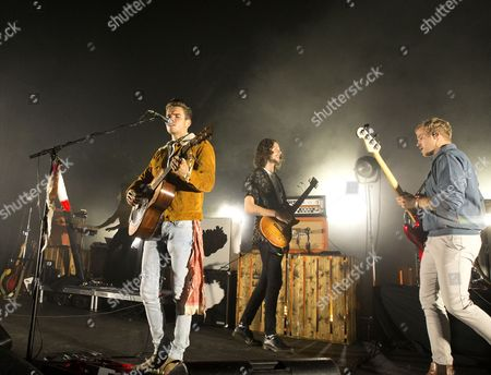 Editorial image of Kaleo in concert at The Tower Theater, Upper Darby Pennsylvania, America - 18 Oct 2017