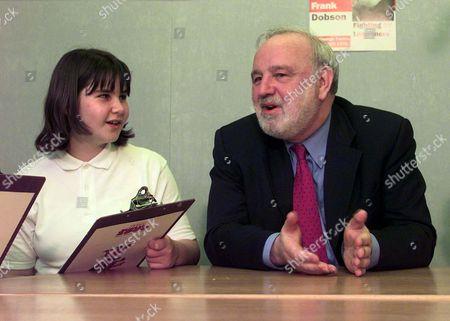 Laura Huseyin, 11 and Frank Dobson