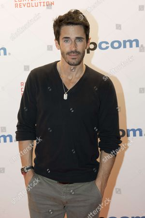 """Brandon Beemer (actor) for the film """"The Bay"""" attend the Opening Red Carpet Party MIPCOM 2017 at Hotel Carlton"""