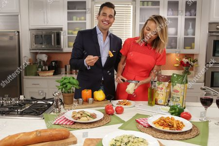 Giuliana and Bill Rancic add a personal touch to their favorite Bertolli dishes, in Chicago