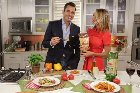 Giuliana and Bill Rancic celebrate National Pasta Month in partnership with Bertolli Frozen Meals, in Chicago