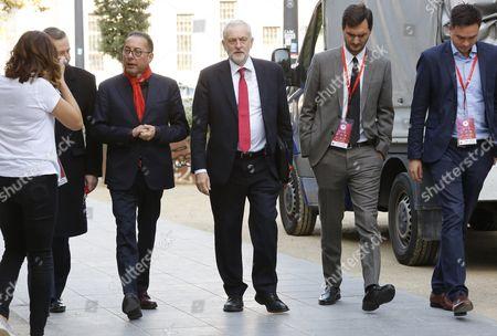 Gianni Pittella and Jeremy Corbyn
