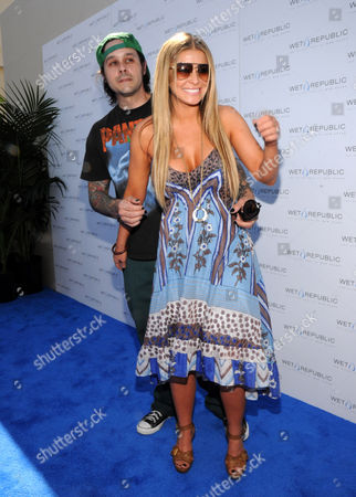 Rob Patterson and Carmen Electra