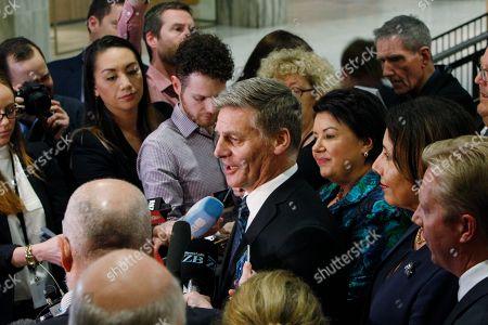 Editorial photo of Election, Wellington, New Zealand - 19 Oct 2017