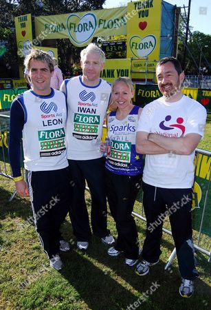 Leon Taylor, Iwan Thomas, Gail Emms and Chris Boardman