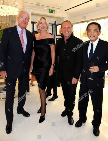 Editorial photo of Michael Kors store opening party, London, Britain - 27 Apr 2009